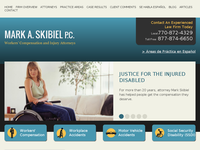 MARK SKIBIEL website screenshot