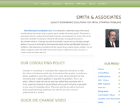 MARK SMITH website screenshot
