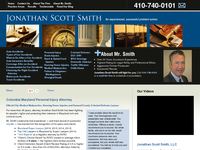 JONATHAN SMITH website screenshot