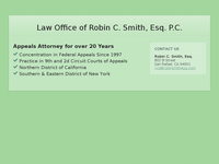 ROBIN SMITH website screenshot