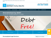 JEFFREY SOLOMON website screenshot