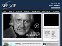 KENT SPENCE website screenshot
