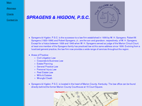 ROBERT SPRAGENS JR website screenshot