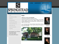 JULIE SPRINGSTEAD website screenshot