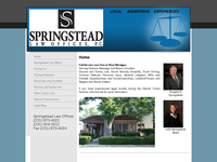 ROBERT SPRINGSTEAD website screenshot