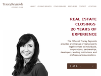 TRACEY REYNOLDS website screenshot