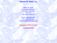 WILLIAM STAHL website screenshot