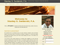 STANLEY SWIDERSKI website screenshot