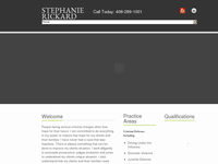STEPHANIE RICKARD website screenshot
