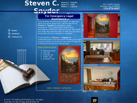STEVEN SNYDER website screenshot