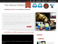 STEPHEN DHILLON website screenshot