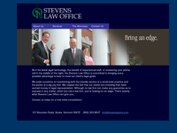HAROLD STEVENS website screenshot
