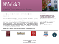 ROBERT STEVENSON website screenshot