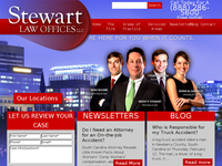 BRENT STEWART website screenshot
