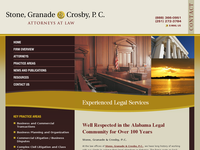 FRED GRANADE website screenshot