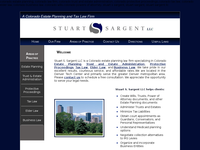 STUART SARGENT website screenshot
