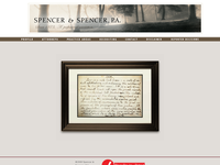 R ALEXANDER SULLIVAN website screenshot
