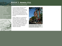 SUSAN SZWED website screenshot