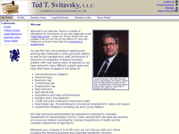TED SVITAVSKY website screenshot