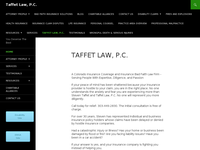 STEVEN TAFFET website screenshot