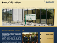 RAZMI TAHIRKHELI website screenshot