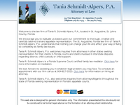 TANIA SCHMIDT-ALPERS website screenshot