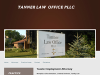 JIM TANNER website screenshot