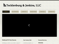 PAUL TECKLENBURG website screenshot