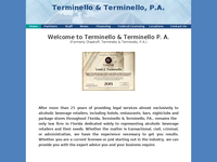 LOUIS TERMINELLO website screenshot