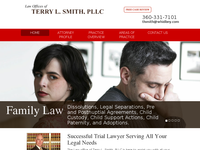 TERRY SMITH website screenshot