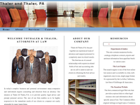 MANLEY THALER website screenshot