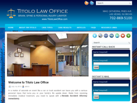 TIMOTHY TITOLO website screenshot