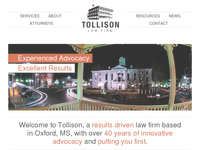 GRAY TOLLISON website screenshot