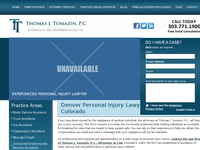 THOMAS TOMAZIN website screenshot