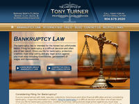 TONY TURNER website screenshot