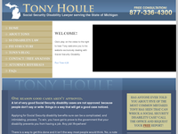 ANTOINE HOULE website screenshot