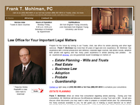 FRANK MOHLMAN website screenshot