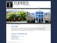 MARCO TORRES website screenshot