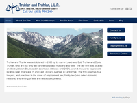 ROBERT TRUHLAR website screenshot