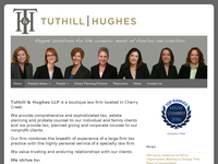 STEPHANIE TUTHILL website screenshot
