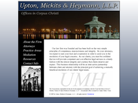 JIM UPTON website screenshot