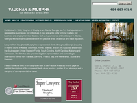 CHARLES MURPHY JR website screenshot