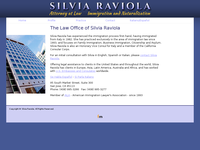 SILVIA RAVIOLA website screenshot