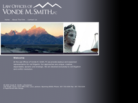 VONDE SMITH website screenshot