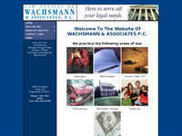 JOHN WACHSMAN website screenshot