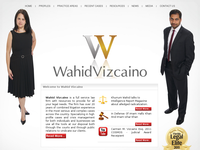 KHURRUM WAHID website screenshot