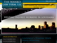STEVE WANKO website screenshot