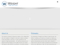 LAURA WEIGHT website screenshot