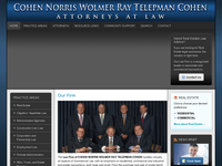 ROBERT WEINBERGER website screenshot