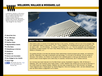 PETE WELLBORN website screenshot
